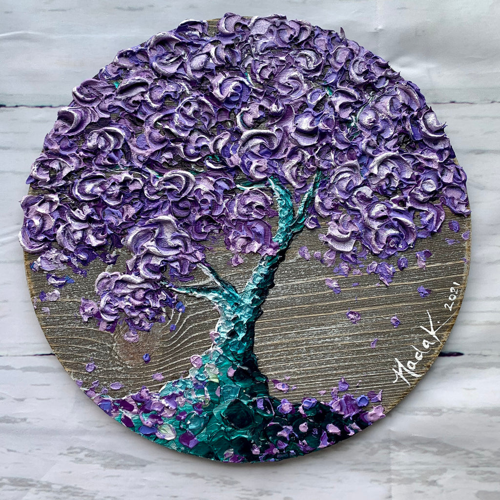 """Purple Mermaid Bonsai"""