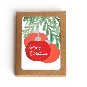 Boxed Cards - Set of 6 - Merry Christmas