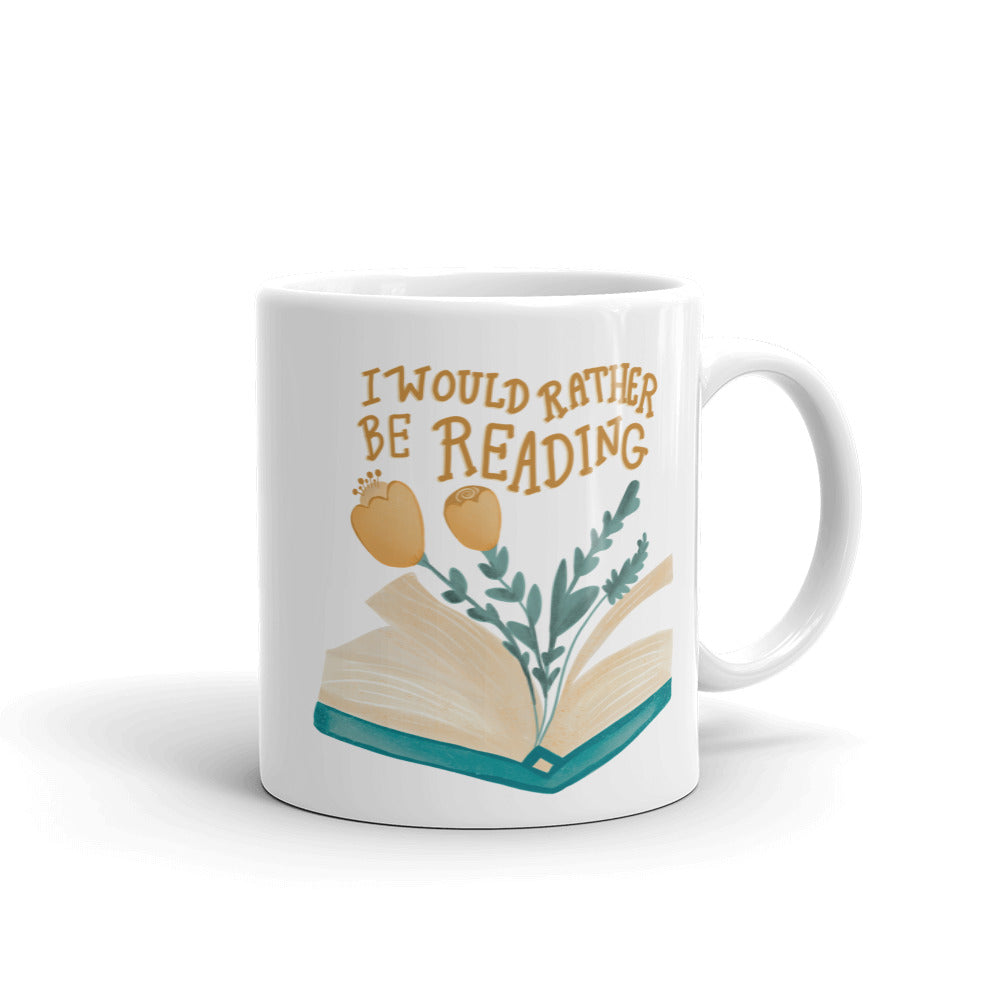 Book Lover's Porcelain Mug | Gifts for Her | Mugs for Mom | Bookworm Bookish Friendship Gift