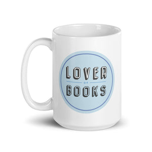 Lover of Books Ceramic Mug - 15oz