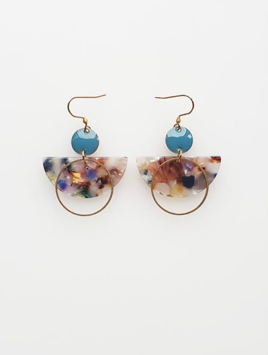 Corsair Earrings in Sky ~ Middle Child