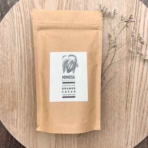 Geranium, Orange and Cacao Bath Soak - Mimosa Botanicals