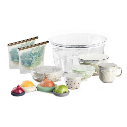Silicone Food Storage Bundle - Seed and Sprout