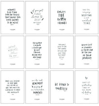 Load image into Gallery viewer, Inspirational Quote Card Set - In The Daylight