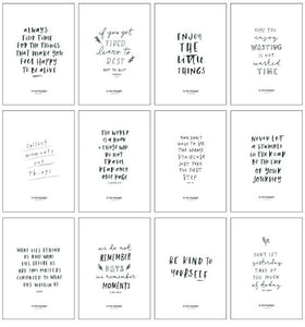 Inspirational Quote Card Set - In The Daylight
