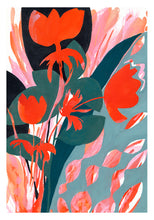 Load image into Gallery viewer, Fire Poppies - A3 print - Georgie Daphne
