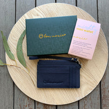 Load image into Gallery viewer, Mighty Mini Wallet - Navy ~ Bon Maxie
