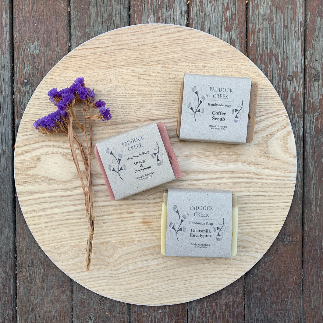 Soaps Locally Made in Gordon ~ Paddock Creek