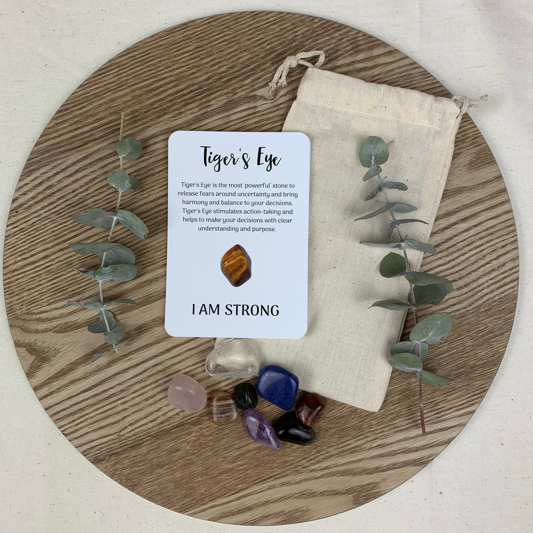 Crystal Affirmation Kit - Growing Kind