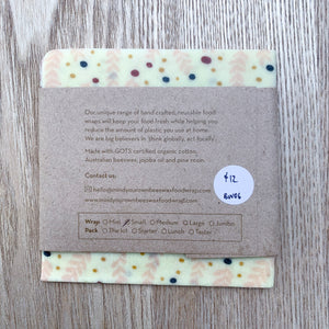 Small Beeswax Wrap - Mind Your Own Beeswax