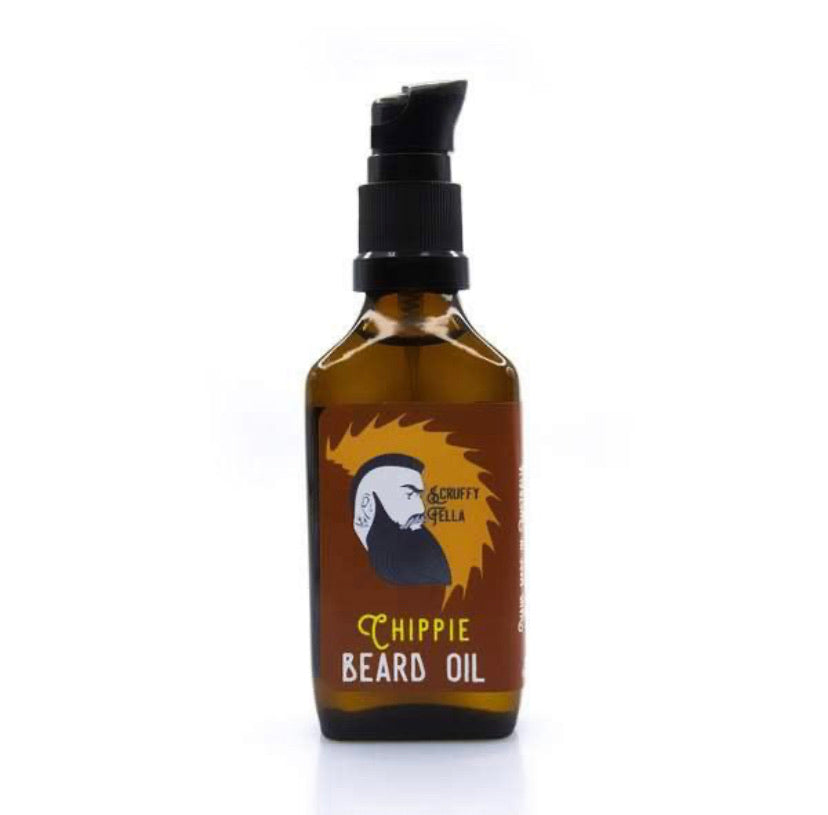Beard Oil - Chippie - 30ml - Scruffy Fella