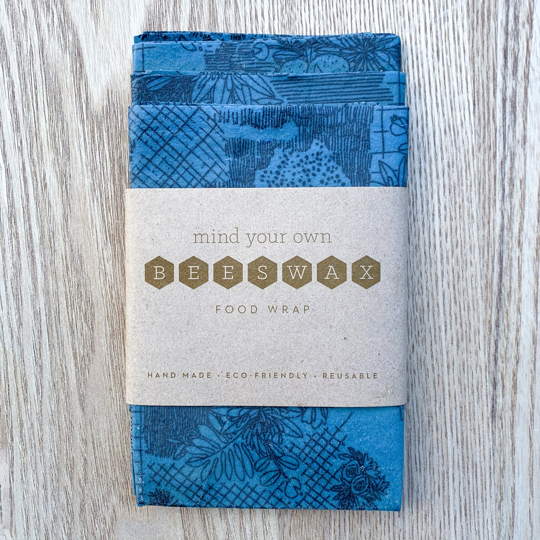 Lunch Pack - Beeswax Wraps - Mind Your Own Beeswax