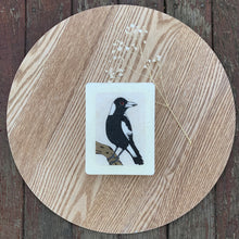 Load image into Gallery viewer, Magpie Woodblock Artwork - Mini size