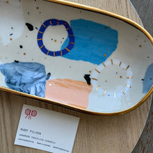 Load image into Gallery viewer, Ruby Pilven Long Platter Dish