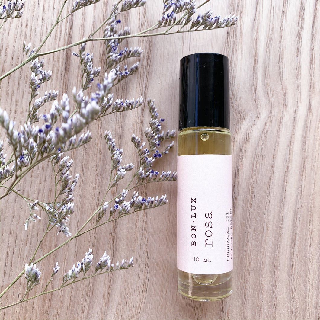 Natural Roll on Perfume - Rosa
