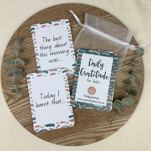 Daily Gratitude Card Prompts - Growing Kind