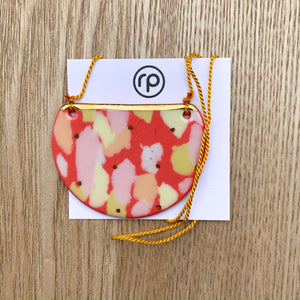 Half Moon Necklace - Ruby Pilven