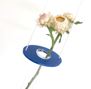 Keep-Oh - Hanging Vase - Oval Royal Blue