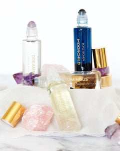 Crystal Perfume Oil Rollers - Bopo Women