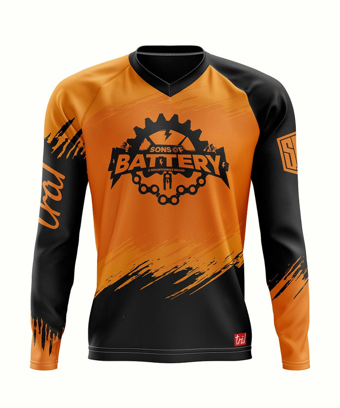 Sons of Battery - Flash - eMTB / eBike Community Shirt