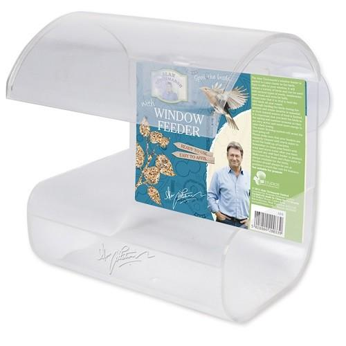 ALAN TITCHMARSH BIRD PLASTIC WINDOW FEEDER (WITH SUCTION CUPS) - City Country Pets and Supplies