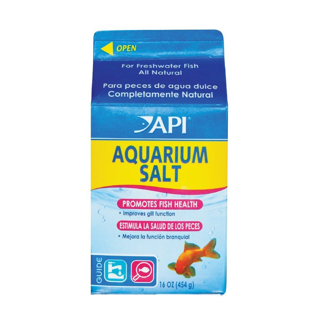 API AQUARIUM SALT 454G - City Country Pets and Supplies