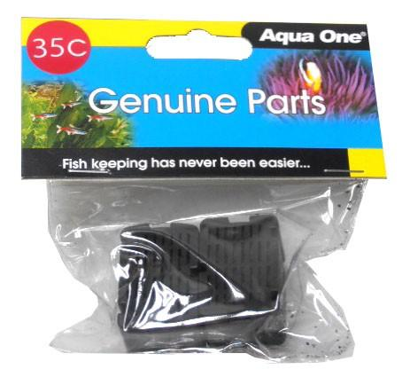 AQUA ONE 25035C CARBON CARTRIDGE 2PK 35C - MINI 301F - City Country Pets and Supplies