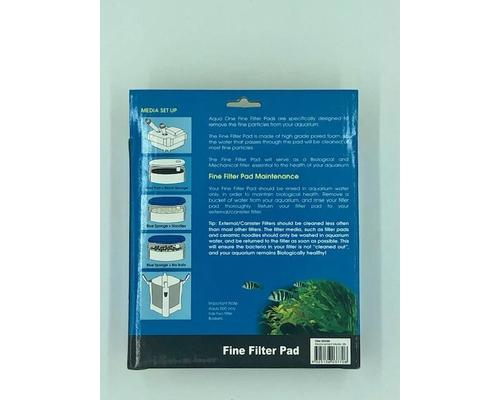 AQUA ONE 35 MICRON FINE FILTER PAD 38S 2PK (FOR AQUIS 500/700) 25038S - City Country Pets and Supplies