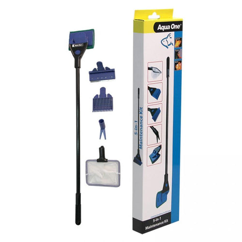 AQUA ONE 5-IN-1 MAINTENANCE KIT - City Country Pets and Supplies