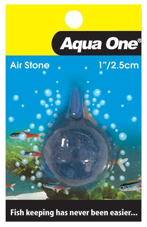 AQUA ONE AIR STONE BALL 1 INCH / 2.5CM - City Country Pets and Supplies