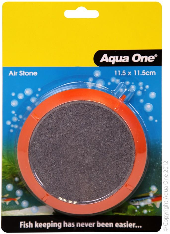 AQUA ONE AIR STONE PVC ENCASED AIR DISK 11.5X11.5CM (LARGE) - City Country Pets and Supplies