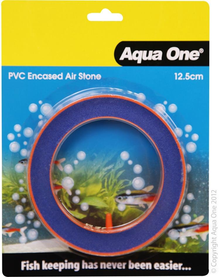 AQUA ONE AIR STONE PVC ENCASED BEAUTY ROUND 12.5CM - City Country Pets and Supplies