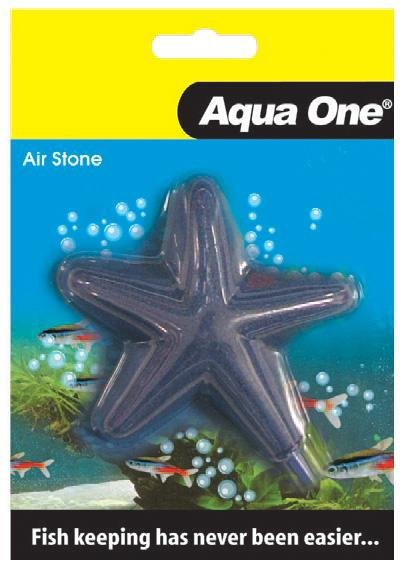 AQUA ONE AIR STONE SHAPED STAR FISH 5CM X 5CM S - City Country Pets and Supplies