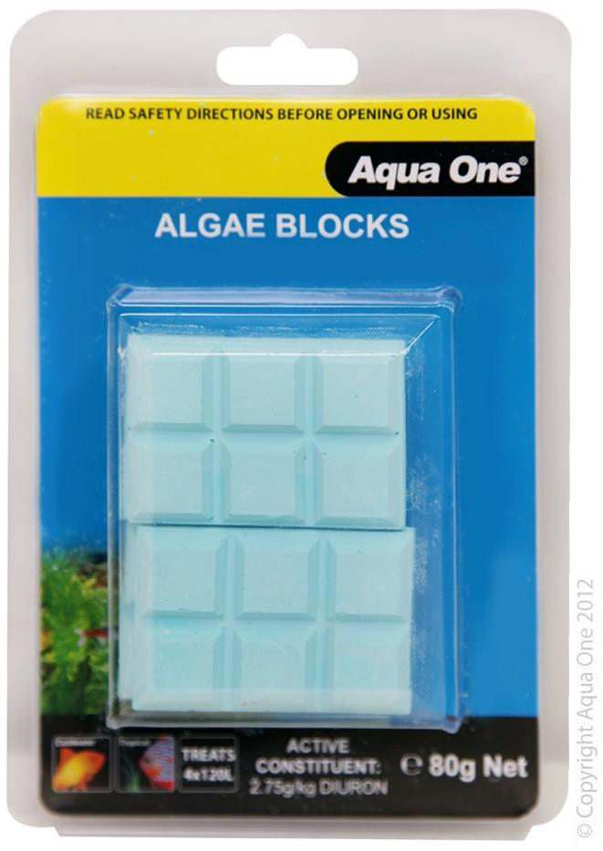 AQUA ONE ALGAE ELIMINATOR BLOCKS 4PK (4X20G) - City Country Pets and Supplies