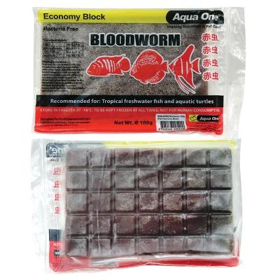 AQUA ONE BLOODWORM 100G (FLAT PACK-CHOC BLOCK) - City Country Pets and Supplies