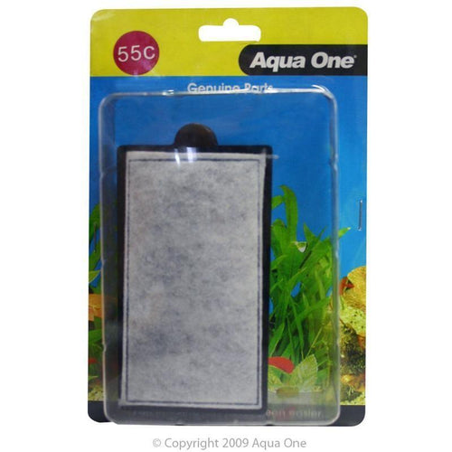 AQUA ONE CARBON CARTRIDGE 55C 2PK (FOR CLEARVIEW 280 (GB60 TANK)) 25055C - City Country Pets and Supplies