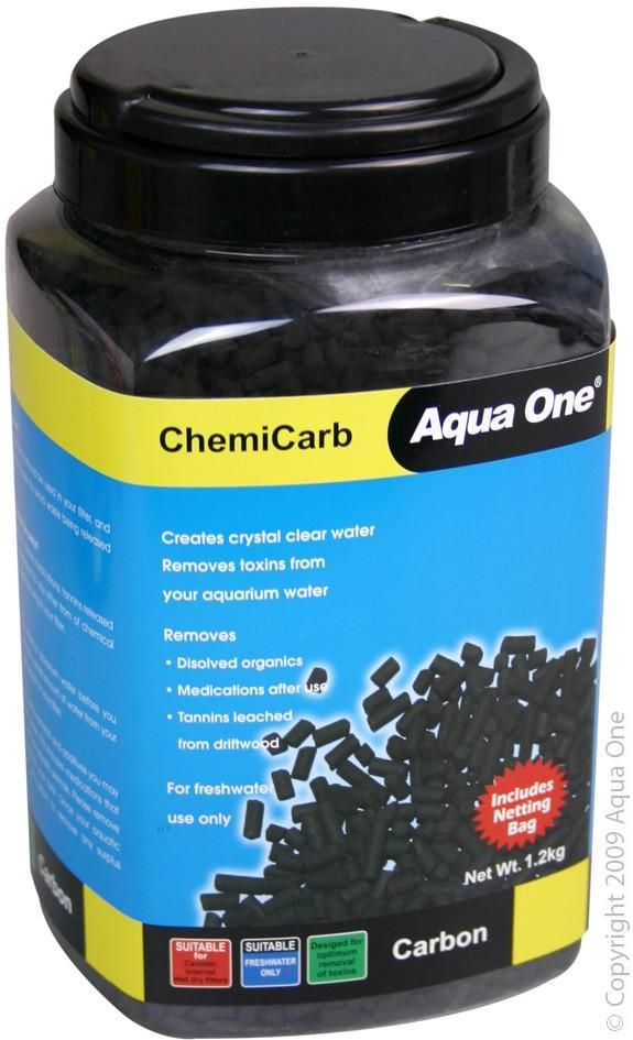 AQUA ONE CHEMICARB CARBON 1.2KG - City Country Pets and Supplies