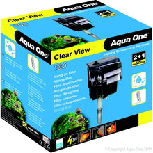Load image into Gallery viewer, AQUA ONE CLEARVIEW 100 HANG ON FILTER 180L/HR - City Country Pets and Supplies
