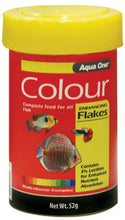 Load image into Gallery viewer, AQUA ONE COLOUR ENHANCING FLAKE 52G - City Country Pets and Supplies