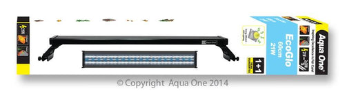 AQUA ONE ECOGLO 60CM 21W LED REFLECTOR LIGHT UNIT - City Country Pets and Supplies