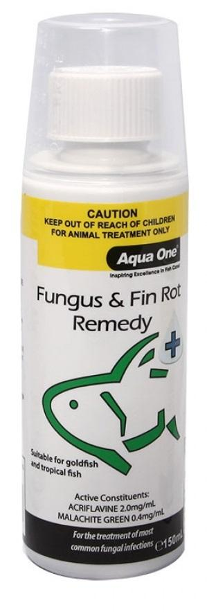 AQUA ONE FUNGUS & FIN ROT REMEDY 150ML - City Country Pets and Supplies
