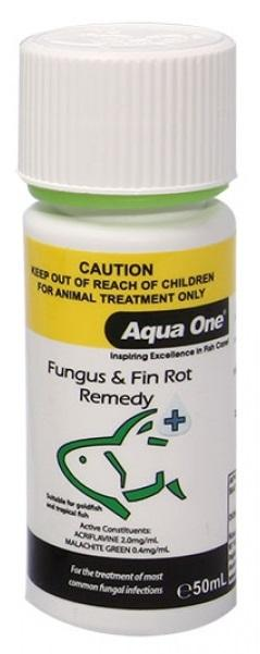 AQUA ONE FUNGUS & FIN ROT REMEDY 50ML - City Country Pets and Supplies