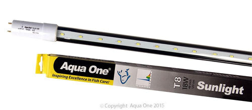 AQUA ONE LED TUBE SUNLIGHT 18W 48IN T8 - City Country Pets and Supplies