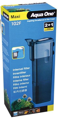 AQUA ONE MAXI 102F INTERNAL FILTER (450L/HR) - City Country Pets and Supplies