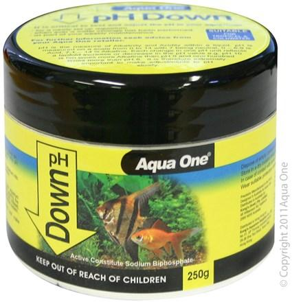 AQUA ONE PH DOWN QUICKDROP 250G - City Country Pets and Supplies