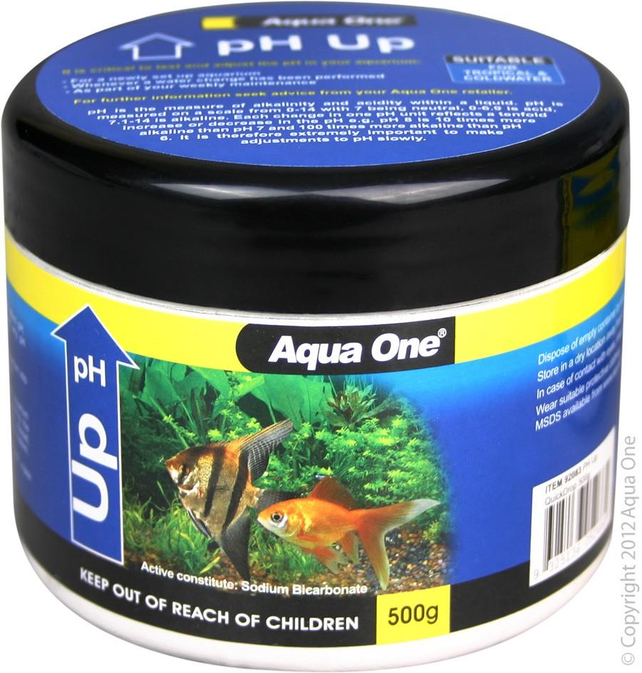 AQUA ONE PH UP QUICKDROP 500G - City Country Pets and Supplies