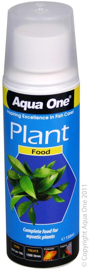 AQUA ONE PLANT FOOD FERTILISER 150ML - City Country Pets and Supplies