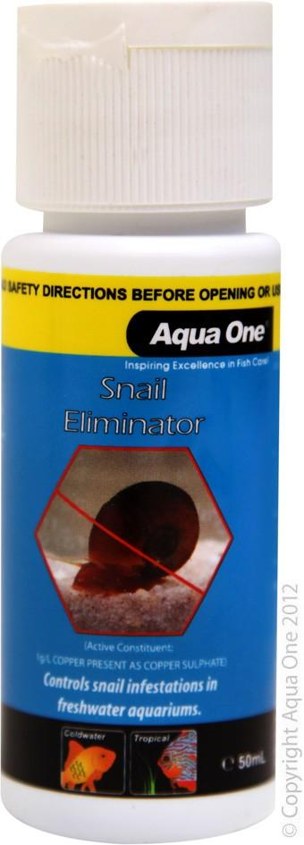 AQUA ONE SNAIL ELIMINATOR 50ML - City Country Pets and Supplies