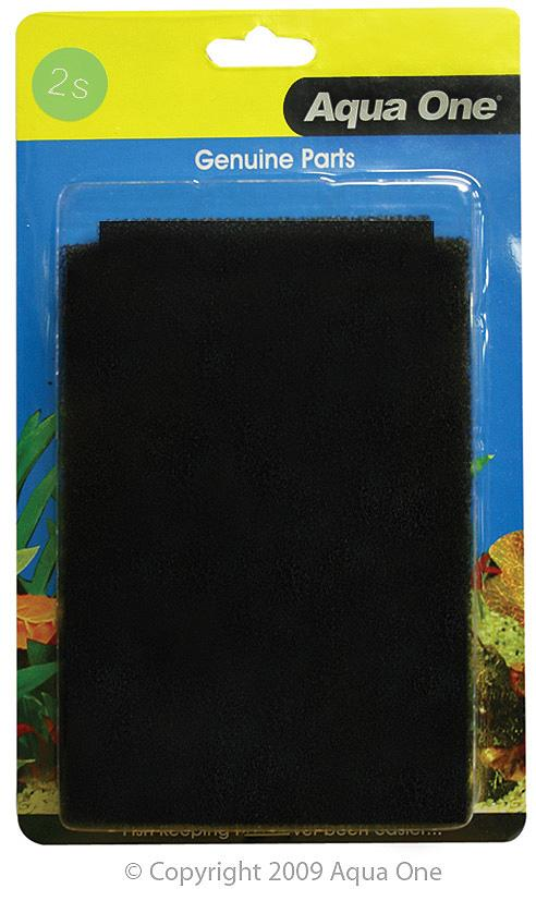 AQUA ONE SPONGE PAD 2S 2PK (FOR AQUASTYLE 510) 25002S - City Country Pets and Supplies