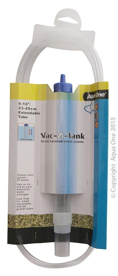 AQUA ONE VAC-A-TANK GRAVEL CLEANER 9-16IN / 23-40CM EXTENDABLE TUBE - City Country Pets and Supplies